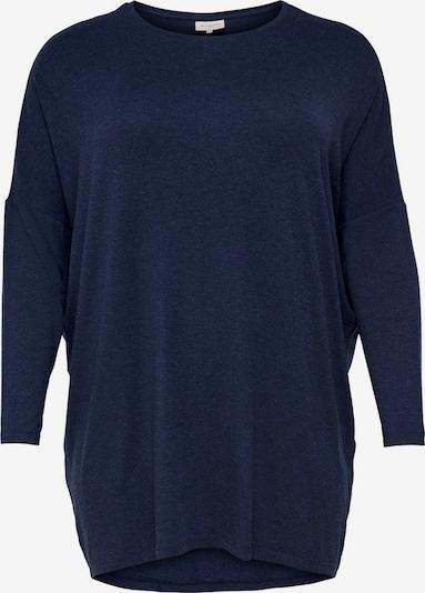 ONLY Carmakoma T-shirt oversize en bleu foncé, Vue avec produit