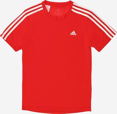 ADIDAS PERFORMANCE T-Shirt fonctionnel en rouge / blanc, Vue avec produit