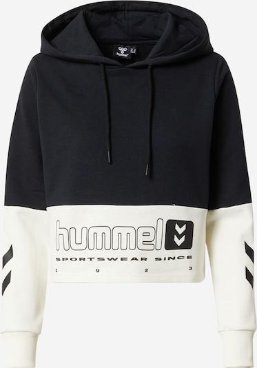Hummel Athletic Sweatshirt in Black / Wool white, Item view