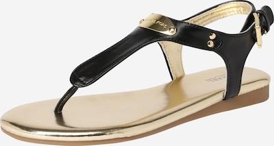 Michael Kors Sandale 'TILLY JANE' in gold / schwarz, Produktansicht