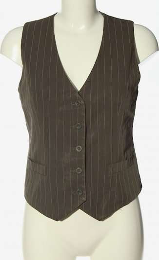 heine Anzugweste in M in khaki / weiß, Produktansicht
