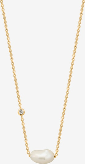 ANIA HAIE Kette in gold / perlweiß: Frontalansicht