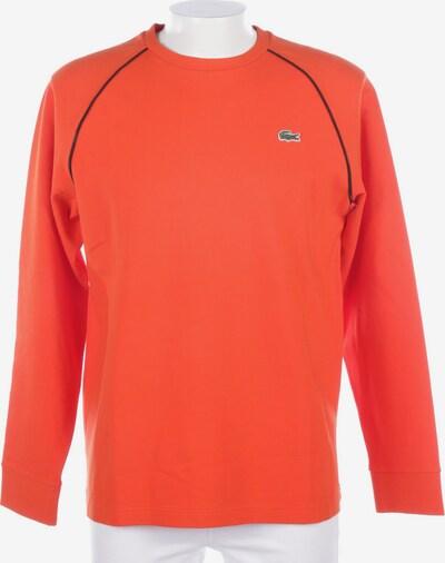 LACOSTE Sweatshirt / Sweatjacke in L in orangerot, Produktansicht