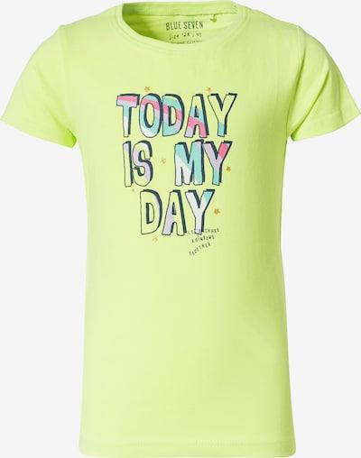 BLUE SEVEN T-Shirt en bleu marine / jade / vert clair / rose / blanc, Vue avec produit