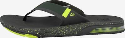 REEF Sportschoen 'Fanning Low' in de kleur Groen, Productweergave