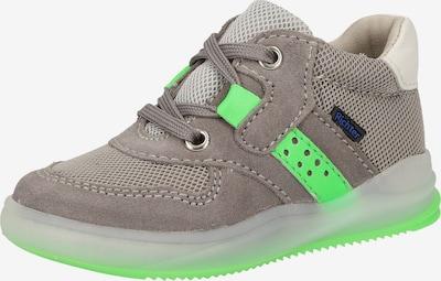 RICHTER Sneaker in grau / kiwi, Produktansicht