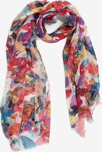 Emma & Kelly Schal mit buntem Blüten-Print in mischfarben, Produktansicht