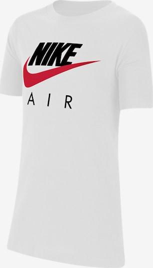 Tricou Nike Sportswear pe roșu / negru / alb, Vizualizare produs