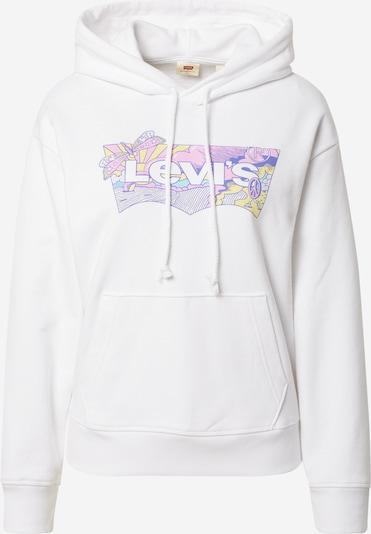 LEVI'S Sweatshirt in gelb / lila / mauve / weiß, Produktansicht