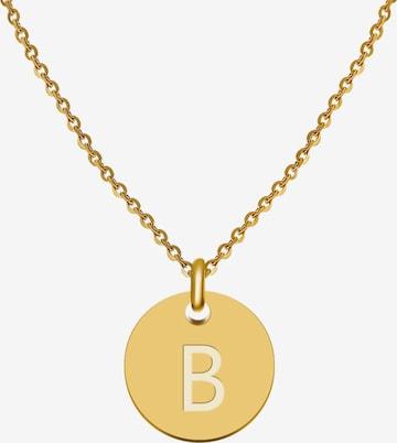 GOOD.designs Buchstabenkette 'B' in Gold