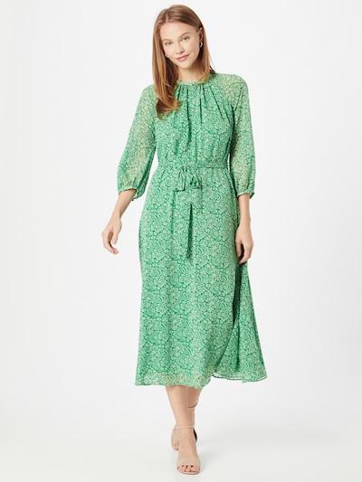 Whistles Kleid in beige / grasgrün, Modelansicht