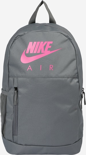 Nike Sportswear Ryggsäck i grå / ljusrosa, Produktvy