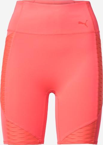 PUMA Sportsbukser i oransje