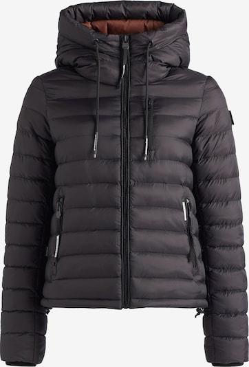 khujo Winterjas ' LOVINA ' in de kleur Zwart, Productweergave