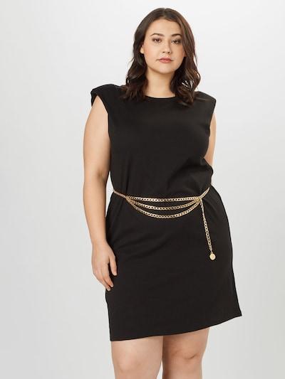 River Island Plus Kleid in schwarz, Modelansicht