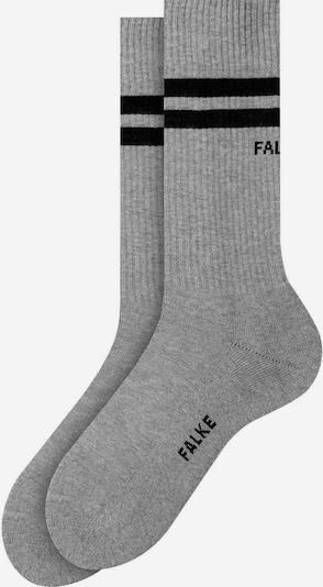 FALKE Socken in graumeliert / schwarz, Produktansicht