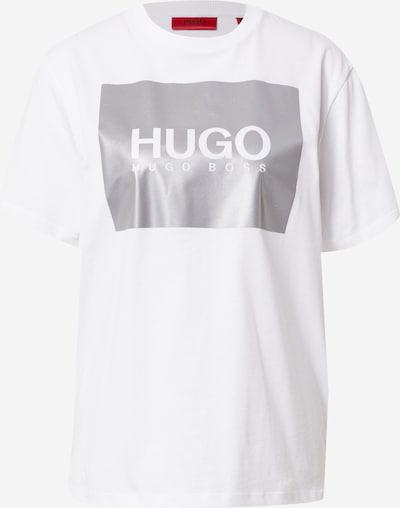 Tricou 'The Boyfriend' HUGO pe alb, Vizualizare produs