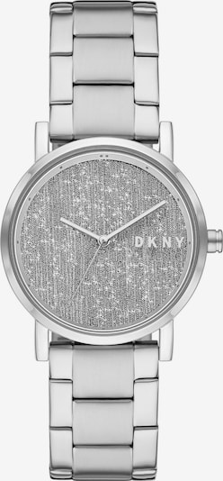 DKNY Analoguhr in silber, Produktansicht