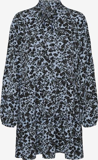 VERO MODA Košeľové šaty 'Lydia' - dymovo modrá / čierna, Produkt