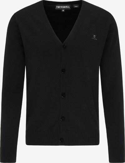 TUFFSKULL Strickjacke in schwarz, Produktansicht