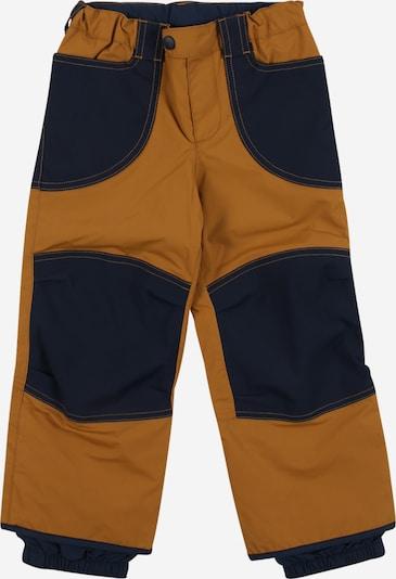 FINKID Pantalon 'TOBI' en camel / bleu marine, Vue avec produit