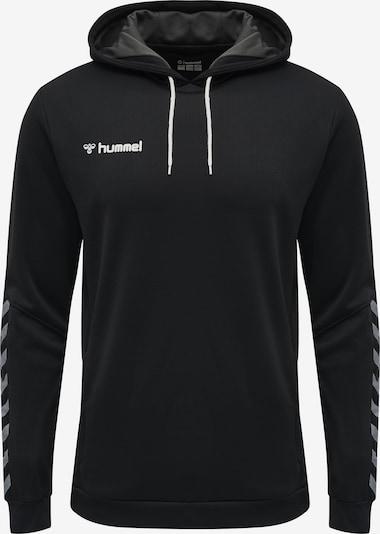 Hummel Hoodie in schwarz / weiß, Produktansicht