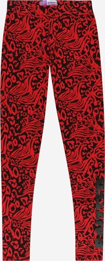 Leggings 'Hangzhou' Raizzed pe roșu / negru, Vizualizare produs