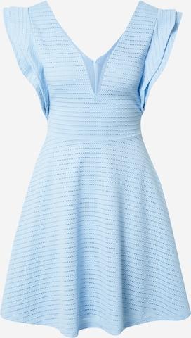 WAL G. Sukienka koktajlowa 'JILLIAN' w kolorze niebieski