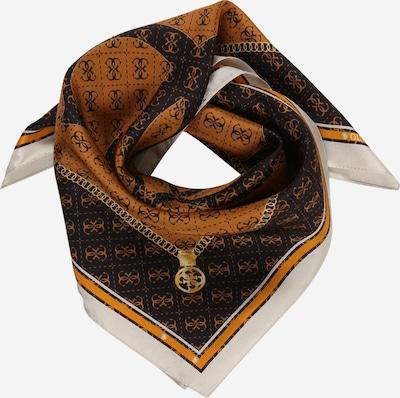 Foulard GUESS di colore marrone / marrone scuro / bianco, Visualizzazione prodotti