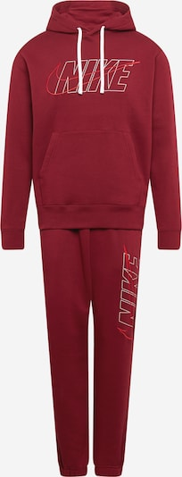 Nike Sportswear Juoksupuku värissä punainen / viininpunainen / valkoinen, Tuotenäkymä