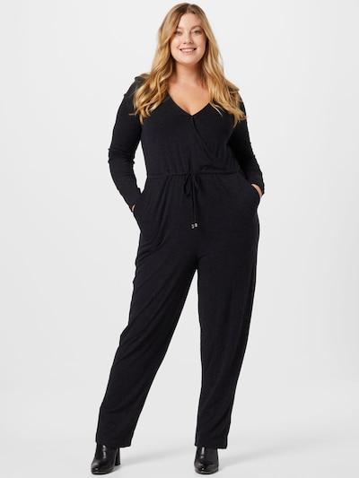 ABOUT YOU Curvy Overall 'Avena' in schwarz, Modelansicht
