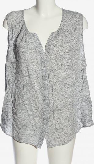 Cynthia Rowley Hemd-Bluse in XXXL in hellgrau / weiß, Produktansicht