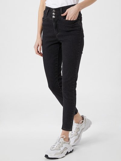 LEVI'S Jeans 'UTILITY MILE HIGH ANKLE' in Black denim, View model