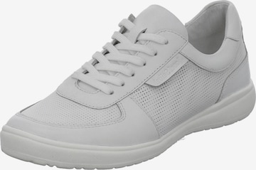 JOSEF SEIBEL Athletic Lace-Up Shoes 'Caren' in White