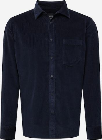 BOSS Casual Hemd 'Riou' in Blau