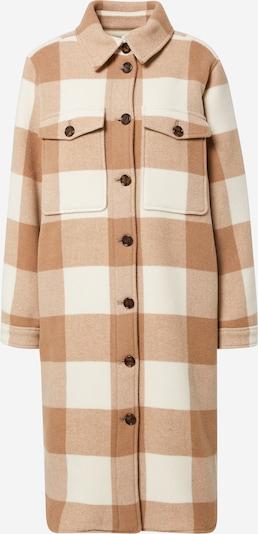 BOSS Casual Between-Seasons Coat 'Cenima' in Cream / Light brown, Item view