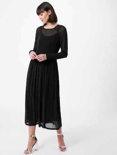Soft Rebels Kleid 'Albertine' in schwarz / silber, Modelansicht
