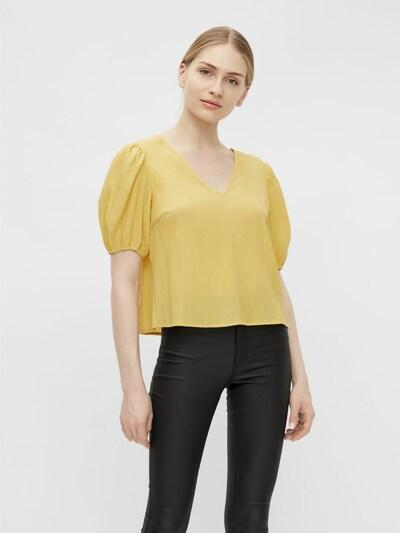 OBJECT Bluse in gelb, Modelansicht
