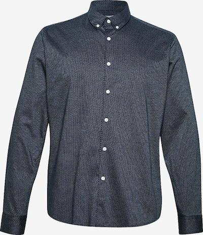 ESPRIT Hemd in dunkelblau / weiß, Produktansicht