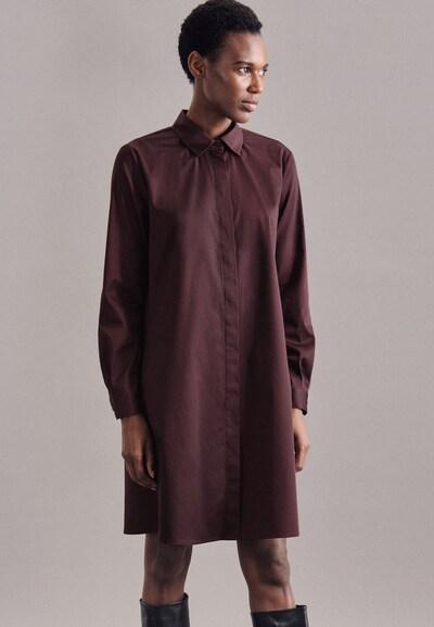 SEIDENSTICKER Oversized jurk ' Schwarze Rose ' in de kleur Wijnrood, Modelweergave