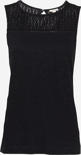 ESPRIT Top 'Crochet' in schwarz, Produktansicht