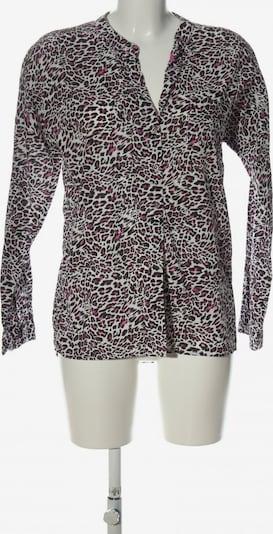 Emily Langarm-Bluse in S in pink / schwarz / weiß, Produktansicht