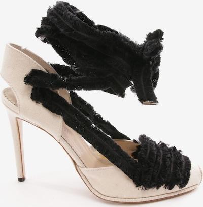 ALTUZARRA Sandaletten in 41 in beige / schwarz, Produktansicht