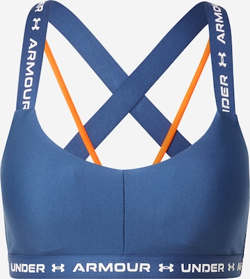 UNDER ARMOUR Sport-BH in Blau