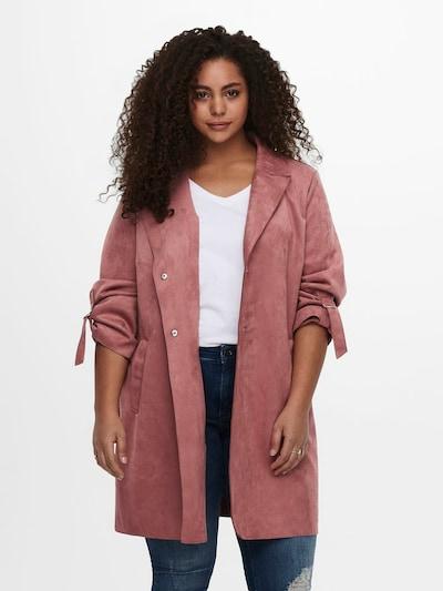 fáradt rózsaszín ONLY Carmakoma Átmeneti kabátok 'Carojline', Modell nézet