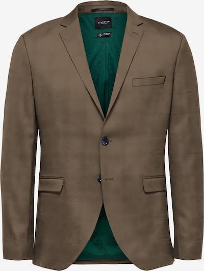 SELECTED HOMME Colbert in de kleur Bruin, Productweergave