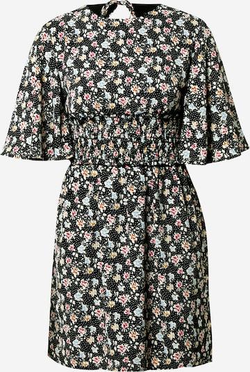 Fashion Union Jurk 'Odine' in de kleur Blauw / Pink / Zwart, Productweergave