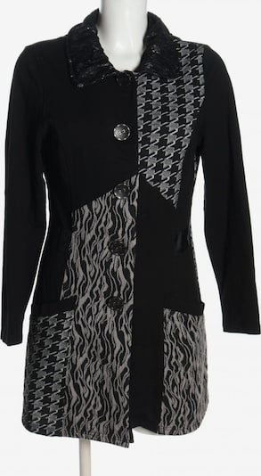Cosima Cardigan in L in hellgrau / schwarz, Produktansicht