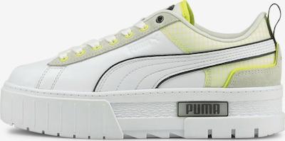 PUMA Sneaker 'Mayze Tech' in gelb / schwarz / weiß, Produktansicht