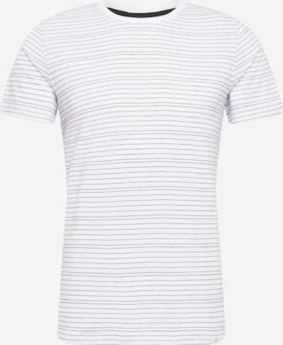 NOWADAYS T-shirt 'injected stripe t-shirt' i vit, Produktvy
